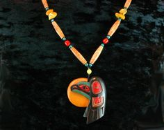 Native American Jewelry Shaman Necklace by ByDivineCollectibles