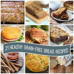 Best Low Carb and Paleo Grain-Free Bread Recipes you need to try. Gluten Free Grains, Gluten Free Baking, Gluten Free Recipes, Bread Recipes, Gf Recipes, Low Carb Bread, Keto Bread, Low Carb Keto, Healthy Recipes