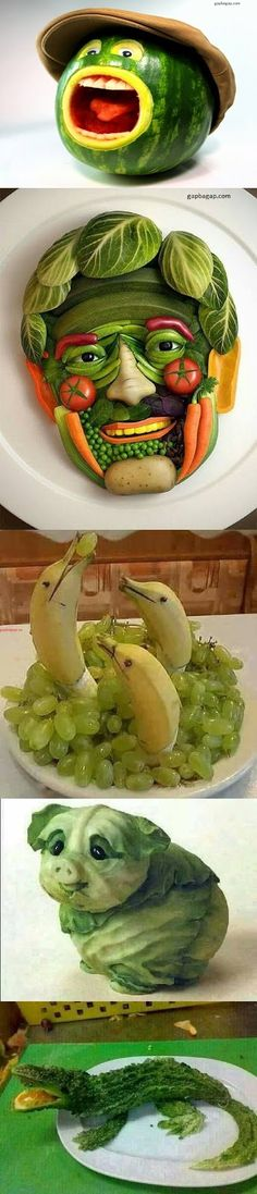 Top 5 Hilarious Pictures Of Fruit Arts