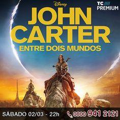 John Carter é um veterano de guerra que é inexplicavelmente transportado para Marte. Ainda angustiado pelas visões da batalha, ele descobre que os marcianos também estão envolvidos em um intenso conflito e que ele pode ser o herói por quem eles estavam esperando.     http://www.clarotv.br.com/
