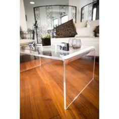 Acylic design shop online: methacrylate side table  coffee table 60x40 h:40 - Tavolino da soggiorno in plexiglass - #acrylic #plexiglass #lucite #living #table #tavolino #soggiorno #design #home #decor