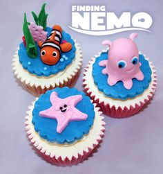 Disney theme cupcakes  Cake by Anna Drew (Anna's Cakes)