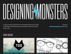 23 Fantastic Examples of Dark Colors in Web Design   Inspiration