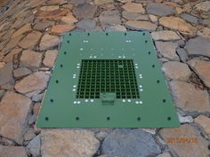High Security Lockable Grid for remote areas