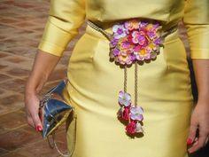 boda flower belt ideas blog bodas ideas complementos boda invitada