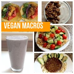 Vegan Macros - Full Day of Eating Vegan IIFYM #7 - HollyBrownFit.com