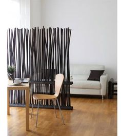 divider room idea.   from dark bamboo.