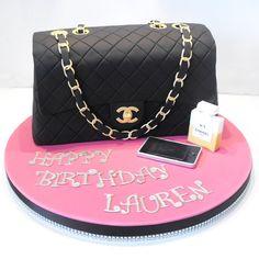 gâteau d'anniversaire chanel anniversaire fillette