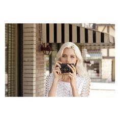 First Look at Abbey Lee Kershaw for Portmans Spring Summer 2011 - 12... ❤ liked on Polyvore