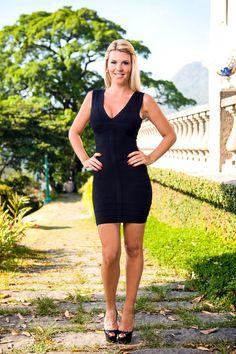 Amélie Neten (Secret Story 4, Les Anges... à peu près toutes les saisons) Bodycon Dress, Stars, People, Black, Dresses, Fashion, Mens Big And Tall, Sexy Feet, Little Black Dresses