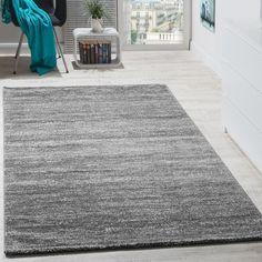 Teppich Kiana in Grau ZipCode Design Teppichgröße: Rechteckig 70 x 140 cm Green Carpet, Carpet Colors, White Carpet, Carpet Size, Diy Carpet, Modern Carpet, Carpet Ideas, Sisal Carpet, Tapis Design