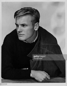 Posed portrait of actor Tab Hunter, circa Tab Hunter, Hunter Movie, Anthony Perkins, Star Wars, Lgbt Love, Young Love, Hollywood Star, Pop Singers, Special People