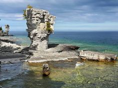 A Guide to Planning a Trip to Fathom Five National Marine Park, Ontario Beauty Around The World, Around The Worlds, Ontario Attractions, Lake Huron, Canada Travel, Detroit, Mount Rushmore, Parks, Michigan