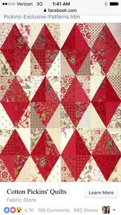 Bilderesultat for pris liten quilt :: Not cookie-cutter repetition but subtle variations between the foreground and background fabrics and among each