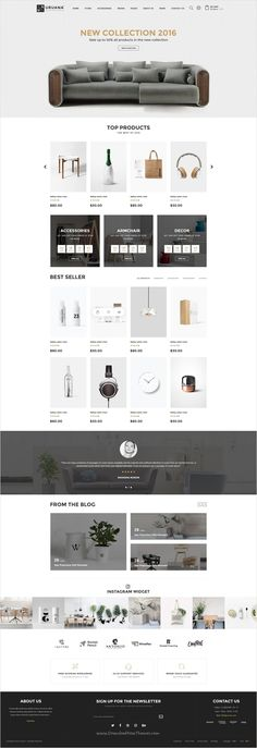 Uruana is uniquely design #Photoshop #template for stunning #eCommerce website with 3+ multipurpose homepage layouts and 21 organized PSD pages download now➩ https://themeforest.net/item/uruana-multi-concept-ecommerce-psd-template/17446677?ref=Datasata