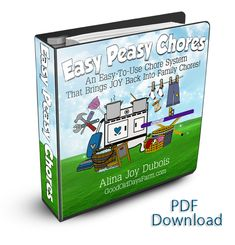 Easy Peasy Chores - ebook with rockin' printables - Deal ends 5/4
