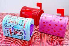 valentine mailboxes: