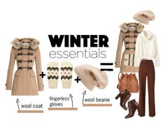 """""""My winter essentials"""" by beautifulgirlsblog on Polyvore featuring Burberry, Forever 21, Sole Society, Chloé, Chanel and Sophie Hulme"""