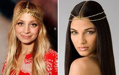 i love this trend! nothing brings a little sparkle to your outfit like a headpiece