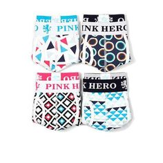 288a85deb3 4pk sale- pink hero design shape cotton sexy mens boxer brief underwear  Boxer Briefs