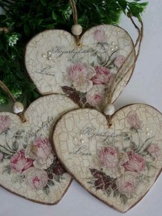 1 million+ Stunning Free Images to Use Anywhere Decoupage Art, Decoupage Vintage, Vintage Crafts, Heart Decorations, Valentine Decorations, Christmas Decorations, Valentine Day Crafts, Christmas Crafts, Christmas Ornaments