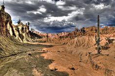 Desierto de La Tatacoa Villavieja Huila by Bernardo Solano F., via Flickr