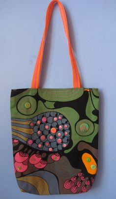 Button Bag by JacksonHoleTextiles on Etsy, $35.00