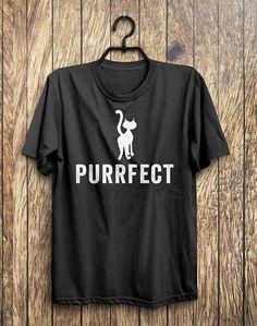 PURRFECT Cat T-Shirt