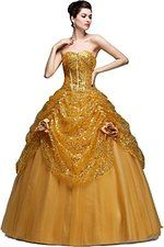 Efashion Women's Evening Pageant Quinceanera Homecoming Sequined Dress L2044