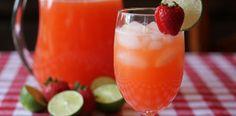 Organic Strawberry Limeade