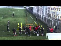 Futbolda Çeviklik, Çabukluk ve Yön Değiştirme - YouTube