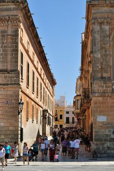 Ciutadella de Menorca Costa, My Land, Villas, Jewel, Spain, Street View, Memories, World, Travel