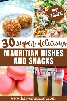 Are you traveling to Mauritius and wondering what to eat? From Briani to fried noodles, gateaux piments, and Dholl Puri, this guide to the best Mauritian dishes and snacks will show you a list of 30 most delicious food to eat in Mauritius Island!