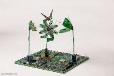 .Garota Clorophila.: Esculturas PCB por Steven Rodrig