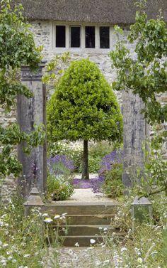 LatteLisa: Garden design: a 17th century farmhouse in Devon