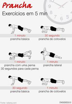 7 Vantagens de exercícios de prancha