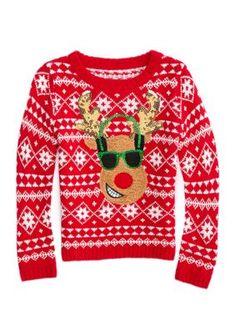 NJKM5MJ Boys Girls American Grown Canada Roots Lovely Sweaters Soft Warm Kids Sweater