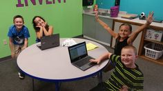 These future Coders are loving @CodeMonkeySTU! #room1rocks #CSforAll #teachcode