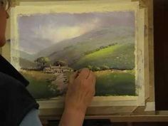 Pastel Painting Demo of a Wharfedale Farm - YouTube