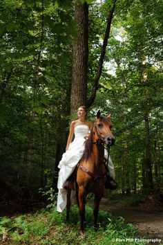 Equestrian Themed Trash The Dress at ASC Greenway © Fort Mill Photography Fort Mill, White Houses, Bridal Portraits, Photo Sessions, Equestrian, Knot, Horses, Tie, York