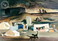 Migratory Camp near Nipomo, 1936