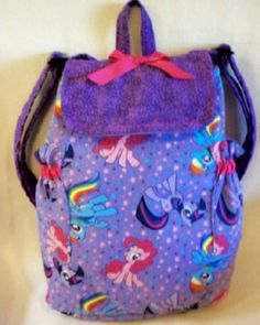 My Little Pony SALE 16% off medium backpack personalize customize choose coordinating colors