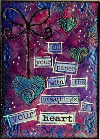 Artful Evidence: ATC - Breathings Of Your Heart