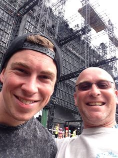 Hardwell after his mainstage set