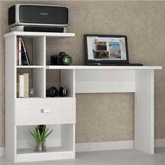Mesa para Computador ou Escritório Benetil Connect com 1 Gaveta