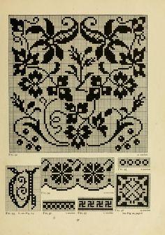The Priscilla filet crochet book; a collection ...