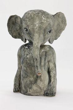 """julienfoulatier: """" Sculpture by Klara Kristalova. """""""