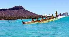 outrigger canoe rides in Waikiki