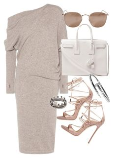 """Untitled #20234"" by florencia95 ❤ liked on Polyvore featuring Tom Ford, Yves Saint Laurent, Linda Farrow, Dsquared2 and Loree Rodkin"