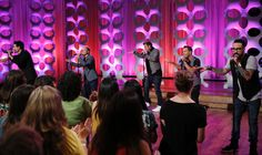 Atomic Webs setting the scene for the Backstreet Boys on The TALK.